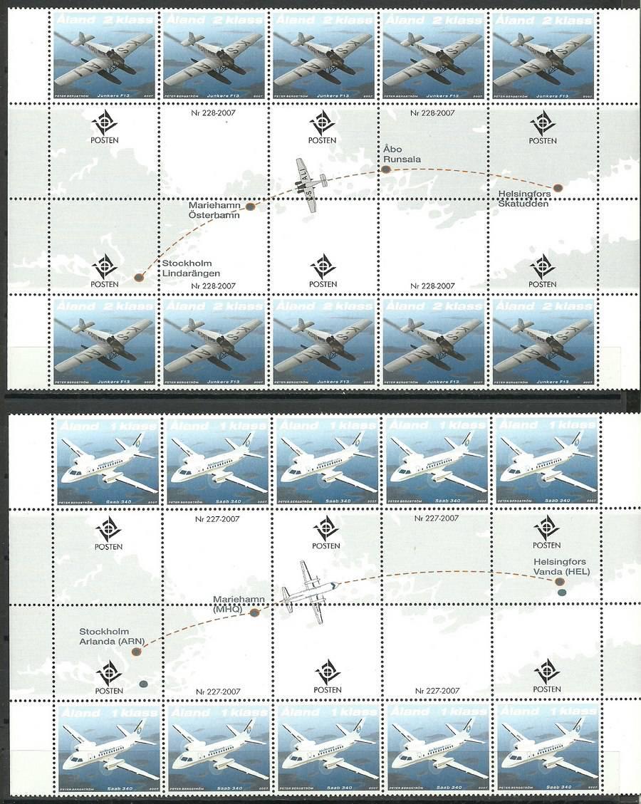 Wyspy Alandzkie 2007 Mi 277-278...