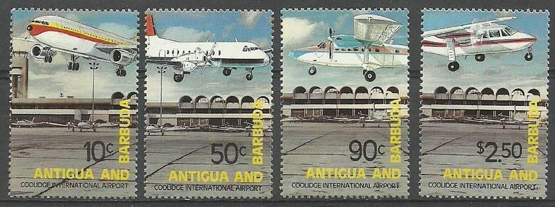 Antigua i Barbuda 1982 Mi 664-667...