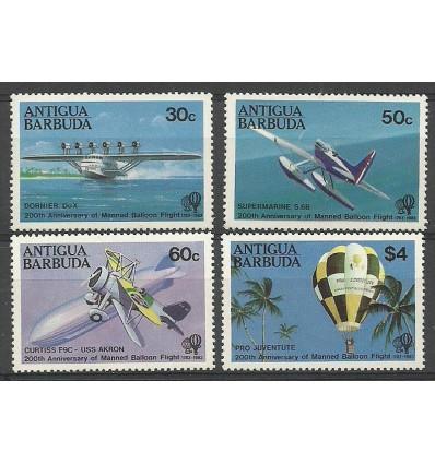 Antigua i Barbuda 1983 Mi 737-740...