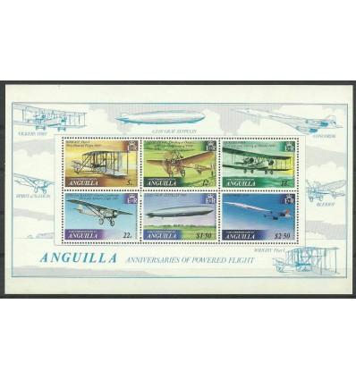 Anguilla 1979 Mi bl 26 Czyste **