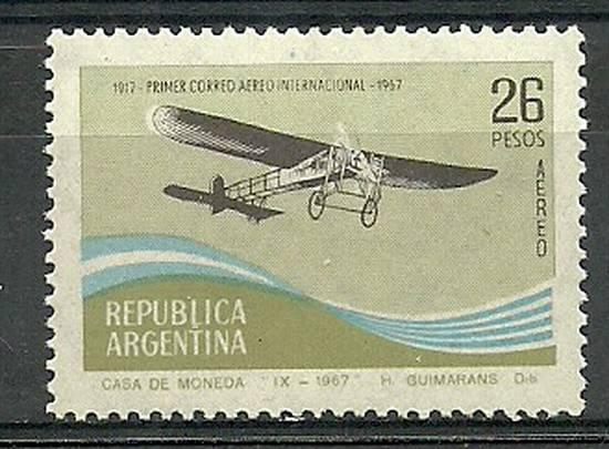 Argentyna 1967 Mi 972 Czyste **