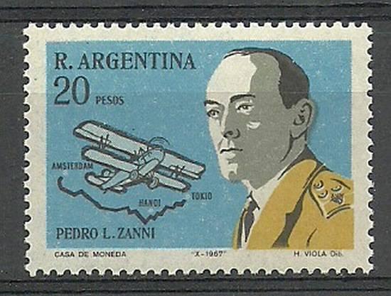 Argentyna 1967 Mi 977 Czyste **