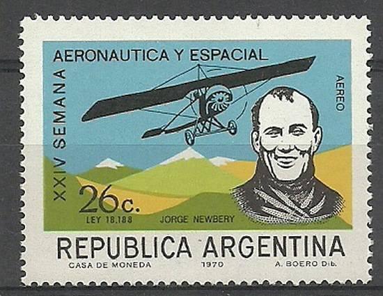 Argentyna 1970 Mi 1076 Czyste **