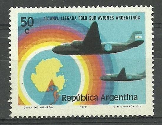 Argentyna 1973 Mi 1141 Czyste **