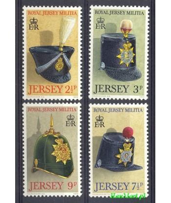 Jersey 1972 Mi 69-72 Czyste **