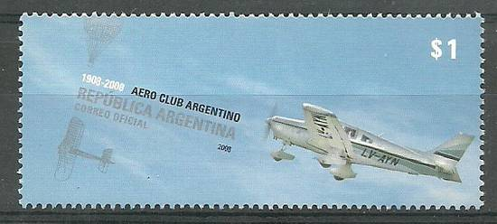 Argentyna 2008 Mi 3188 Czyste **