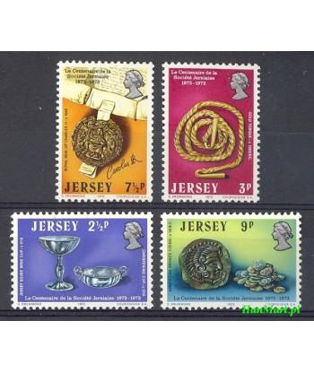 Jersey 1973 Mi 77-80 Czyste **