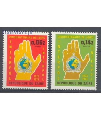 Kongo Kinszasa / Zair 1973 Mi 482-483 Czyste **