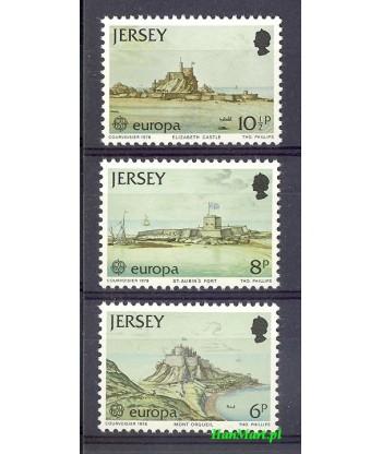 Jersey 1978 Mi 177-179 Czyste **