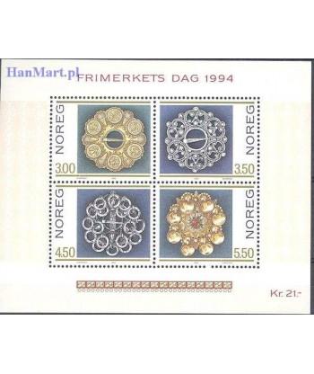Norwegia 1994 Mi bl 21 Czyste **