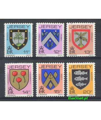 Jersey 1981 Mi 264-269 Czyste **