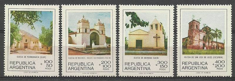 Argentina 1979 Mi 1413-1416 MNH