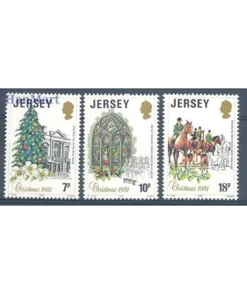 Jersey 1981 Mi 270-272 Czyste **