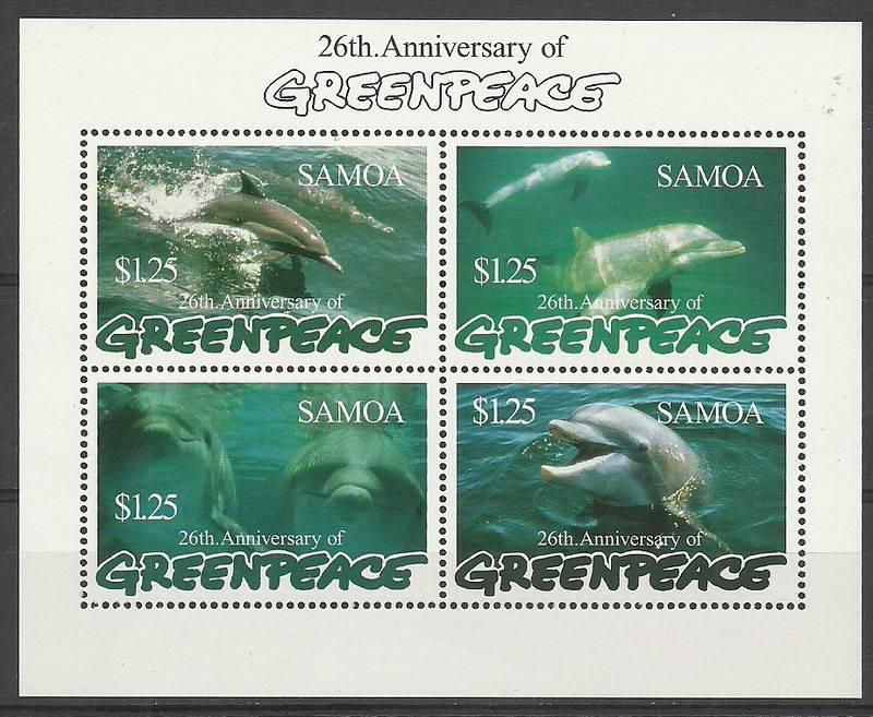 Samoa 1997 Mi bl 62 MNH