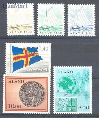 Wyspy Alandzkie 1984 Mi 1-6 Czyste **