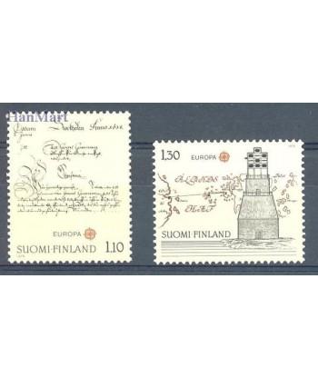 Finlandia 1979 Mi 842-843 Czyste **
