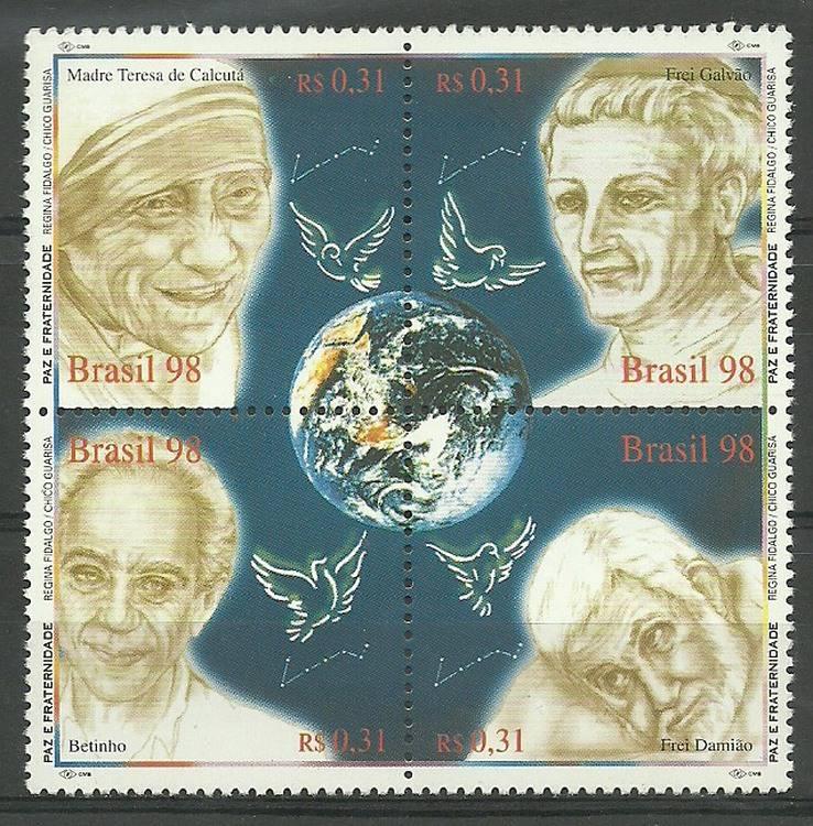 Brazil 1998 Mi 2911-2914 MNH