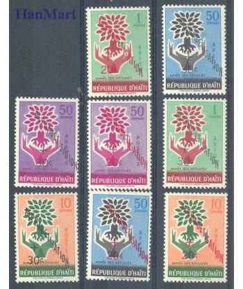 Haiti 1960 Mi 621-628 Czyste **