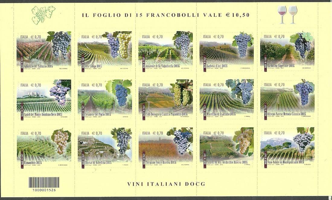 Italy 2013 Mi fol 3628-3642 MNH