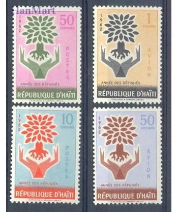 Haiti 1962 Mi 706-709 Czyste **