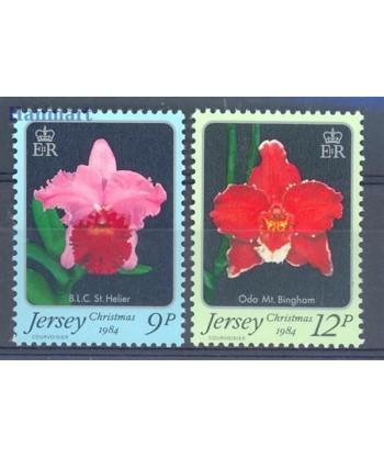 Jersey 1984 Mi 340-341 Czyste **