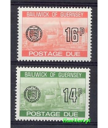 Guernsey 1980 Mi 28-29 Czyste **
