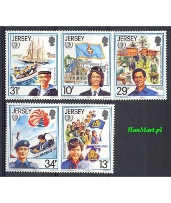 Jersey 1985 Mi 350-354 Czyste **