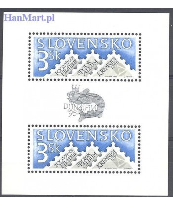 Słowacja 1995 Mi bl 4 Czyste **