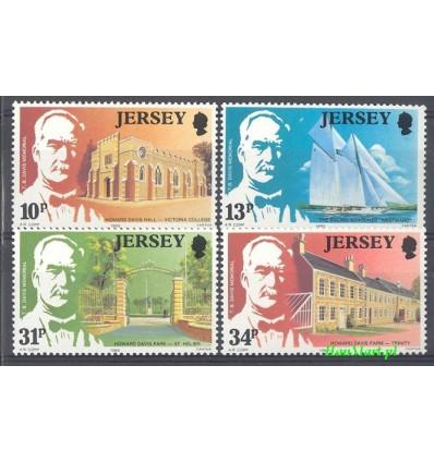Jersey 1985 Mi 368-371 MNH