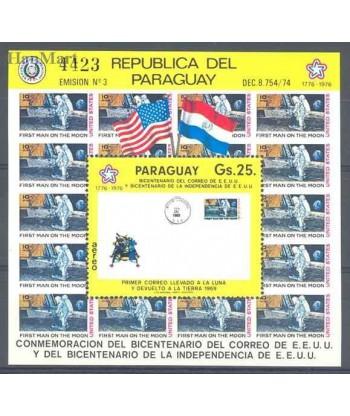 Paragwaj 1976 Mi bl 279 Czyste **