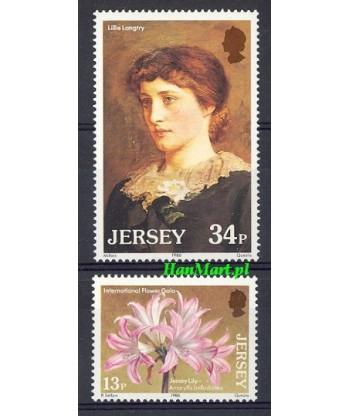 Jersey 1986 Mi 372-373 Czyste **