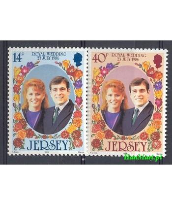 Jersey 1986 Mi 386-387 Czyste **