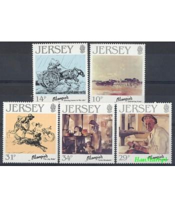 Jersey 1986 Mi 388-392 Czyste **