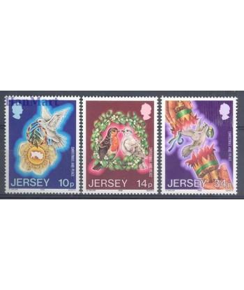 Jersey 1986 Mi 393-395 Czyste **