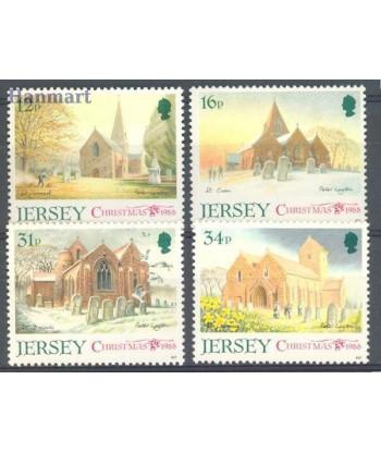 Jersey 1988 Mi 453-456 Czyste **