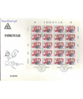 Wyspy Owcze 1985 Mi 116-117 FDC
