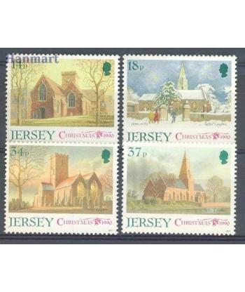 Jersey 1990 Mi 529-532 Czyste **