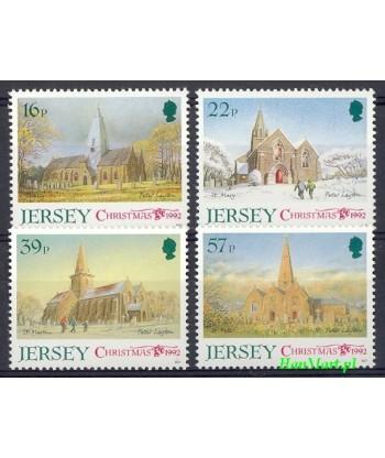 Jersey 1992 Mi 591-594 Czyste **