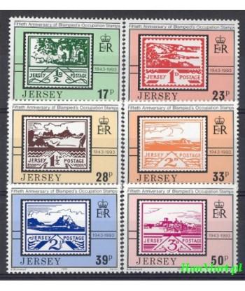 Jersey 1993 Mi 624-629 Czyste **