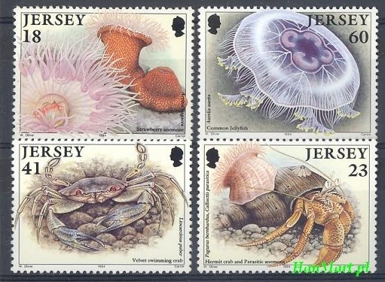 Jersey 1994 Mi 665-668 MNH