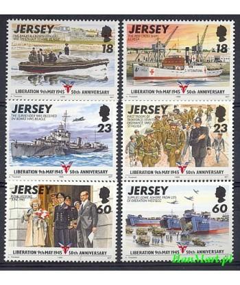 Jersey 1995 Mi 695-700 Czyste **