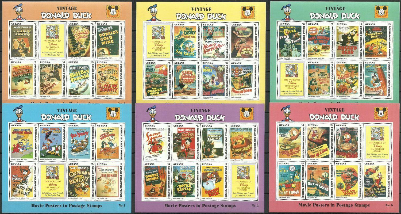 Gujana 1996 Mi ark 5683-5724 Czyste **