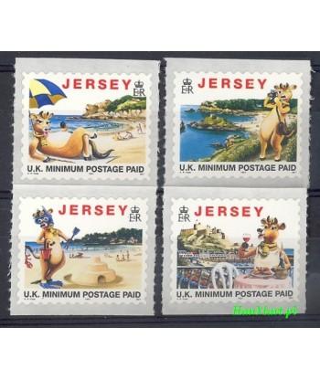 Jersey 1997 Mi 773-776 Czyste **