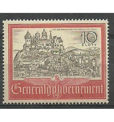 General Gouvernement/GG 1941 Mi 65 MNH