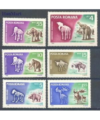 Rumunia 1966 Mi 2553-2558 Czyste **