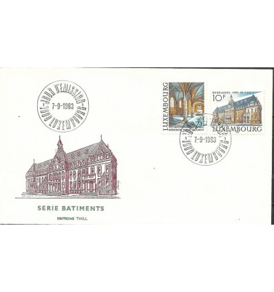 Luxembourg 1983 Mi 1081-1082 FDC