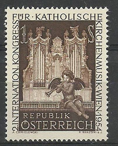 Austria 1954 Mi 1008 MNH