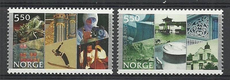 Norway 2002 Mi 1436-1437 MNH