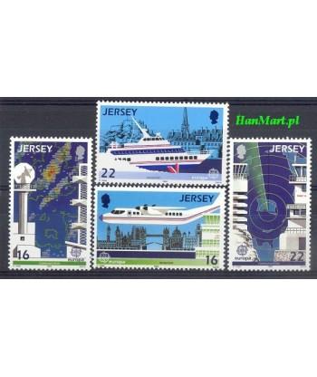 Jersey 1988 Mi 435-438 Czyste **