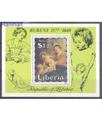 Liberia 1984 Mi bl 107 Czyste **